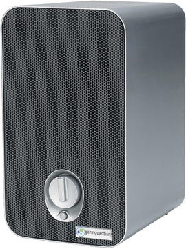 GermGuardian Table Top Tower Air Purifier with HEPA Filter, UV-C Sanitizer and Odor Reduction