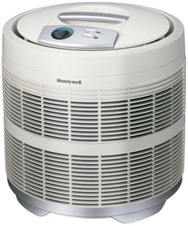 Honeywell 50250-S Round Air Purifier with Pure HEPA Filter